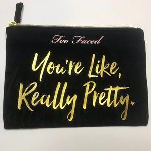 Too Faced Makeup / Cosmetic Bag